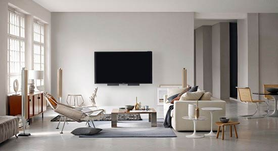Bang-&-Olufsen room decor image