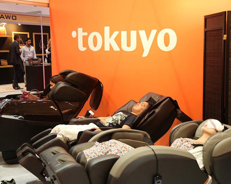 Wellness-Exhibition Massage chairs