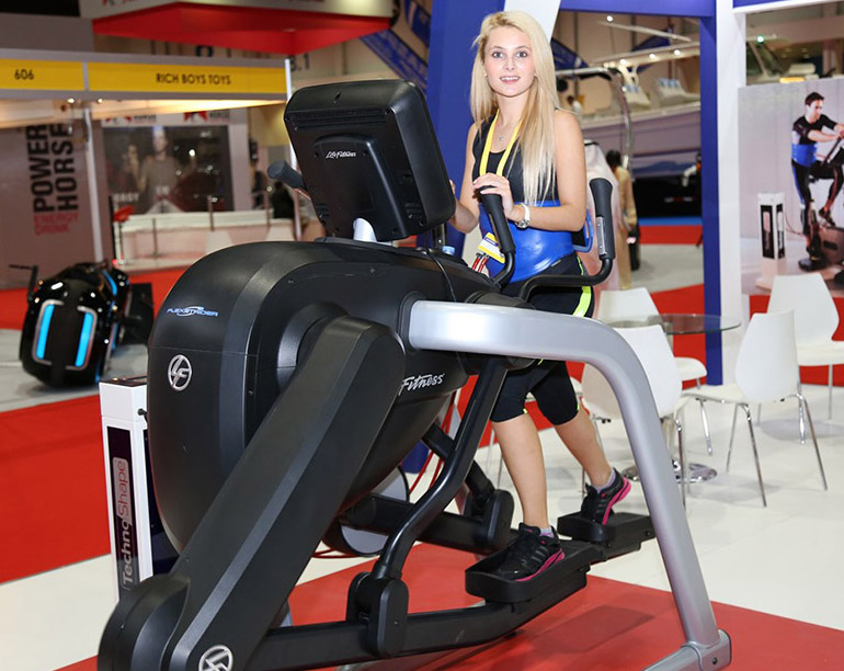 Wellness-Exhibition fitness treadmill