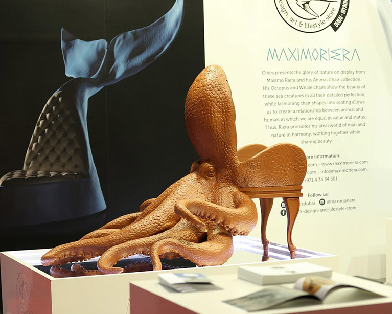 lifestyle-exhibition Octopus chair