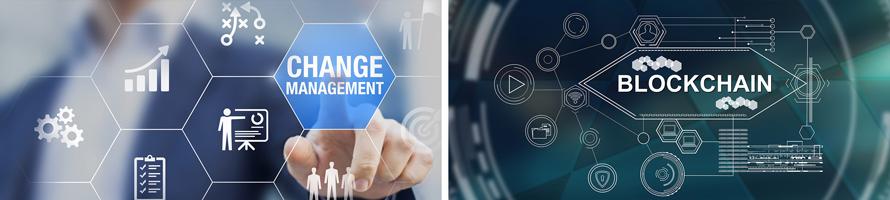 Change management blockchain